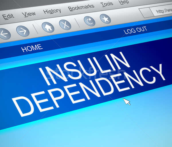 Insulin dependency concept. Stock photo © 72soul