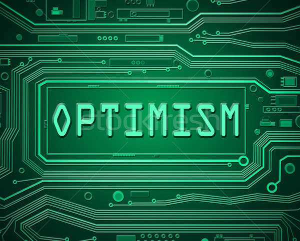 Technology optimism concept. Stock photo © 72soul