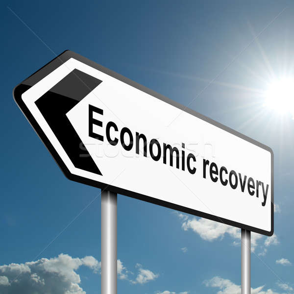 Economic recovery concept. Stock photo © 72soul