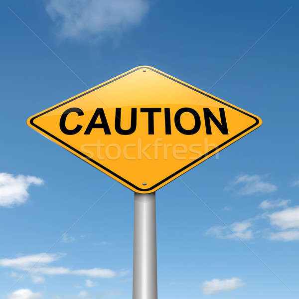 Caution concept. Stock photo © 72soul