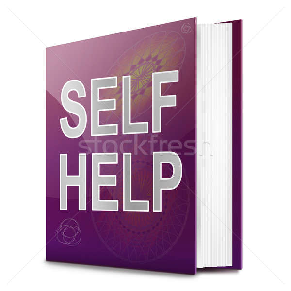 Self help concept book. Stock photo © 72soul