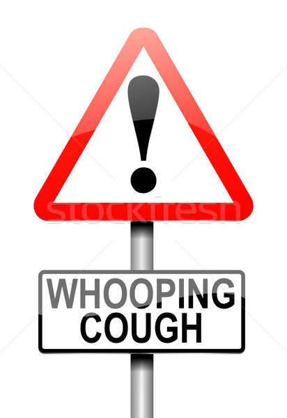 Whooping cough concept. Stock photo © 72soul