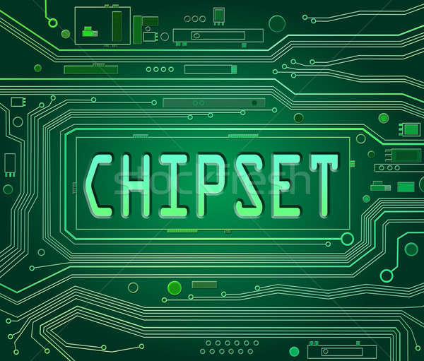 Chipset concept. Stock photo © 72soul