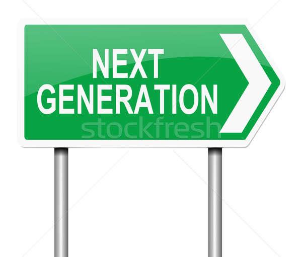 Next generation concept. Stock photo © 72soul