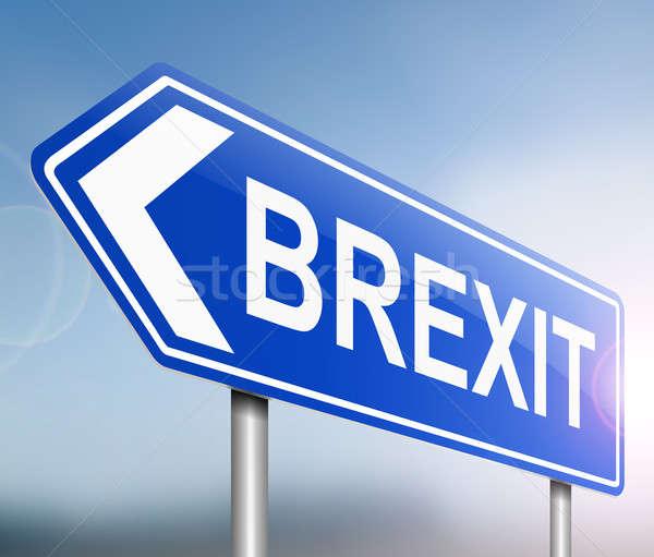 Brexit sign concept. Stock photo © 72soul