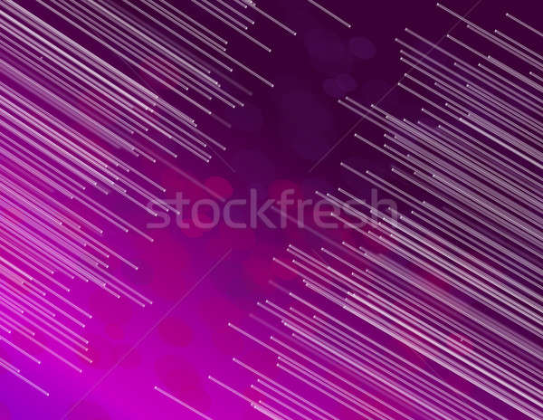 fiber optic abstract. Stock photo © 72soul