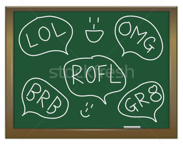 Text abbreviations. Stock photo © 72soul