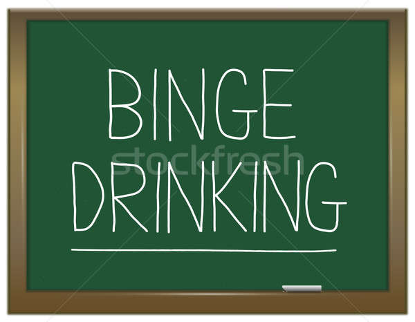 Binge drinking concept. Stock photo © 72soul