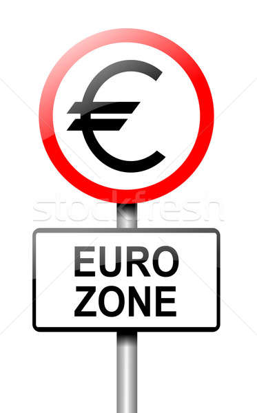 Euro zone concept. Stock photo © 72soul