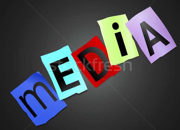 Stock photo: Media concept.