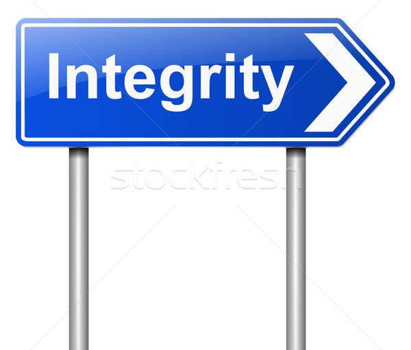 Integrity concept. Stock photo © 72soul