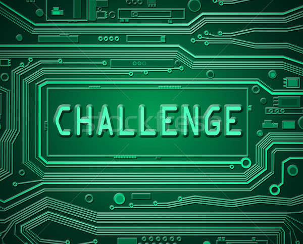 技術 挑戦 抽象的な スタイル 実例 ストックフォト © 72soul