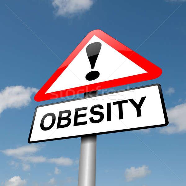 Obesity concept. Stock photo © 72soul