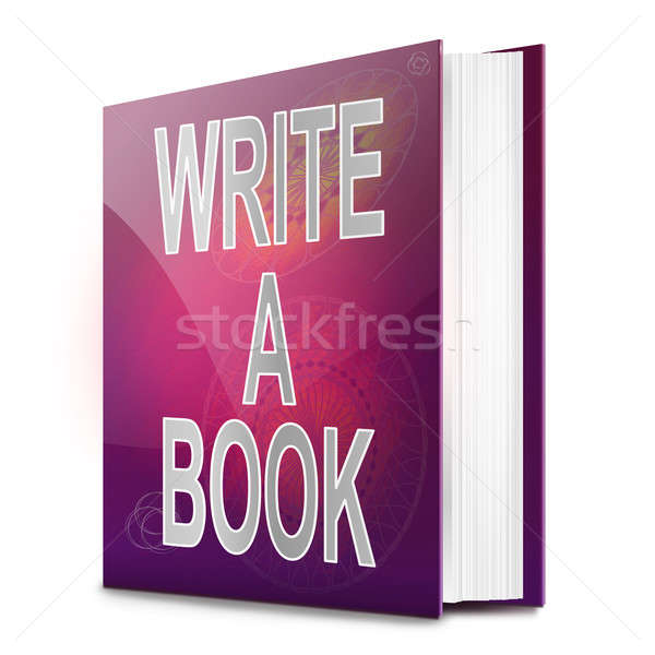 Writing a book. Stock photo © 72soul