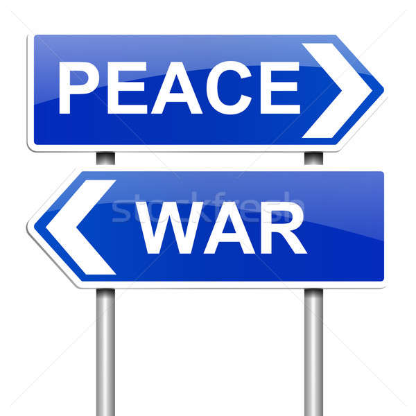 War or peace concept. Stock photo © 72soul