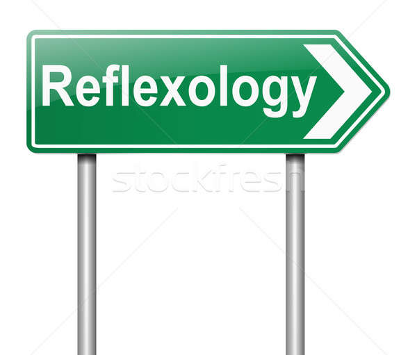 Reflexology concept. Stock photo © 72soul