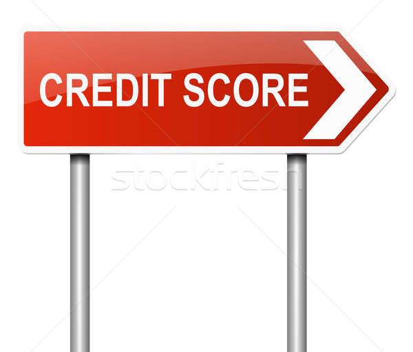 Credit score concept. Stock photo © 72soul