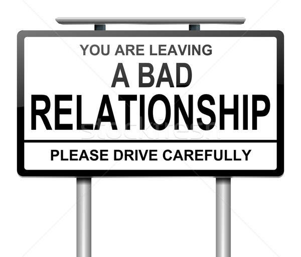 Bad relationship concept. Stock photo © 72soul