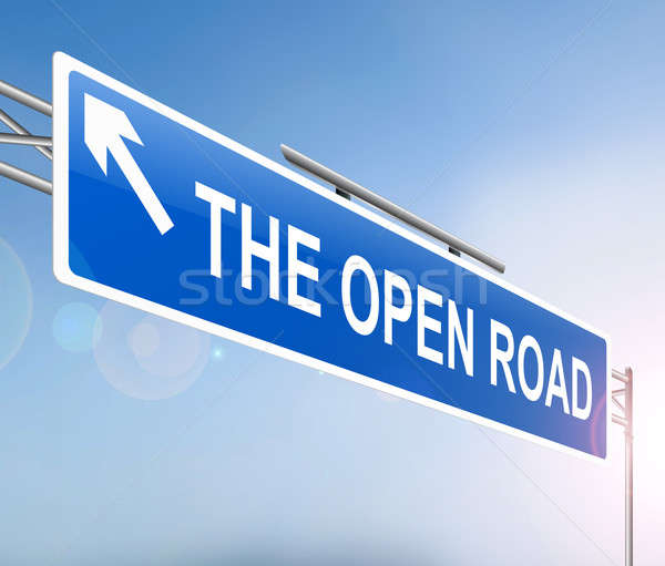 Open road concept. Stock photo © 72soul