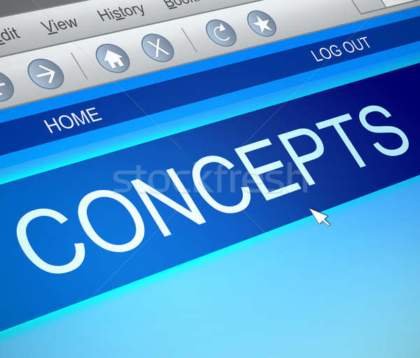 Online concepts information. Stock photo © 72soul