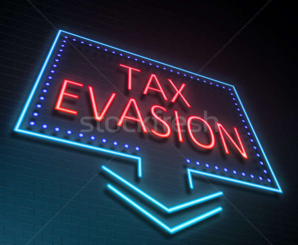 Tax evasion concept. Stock photo © 72soul