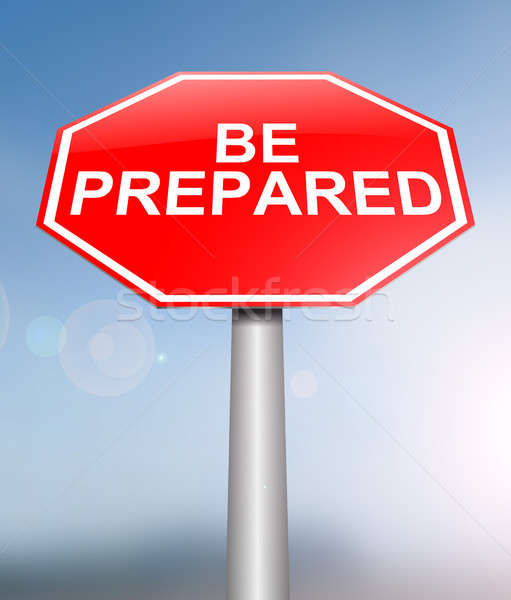 Be prepared concept. Stock photo © 72soul
