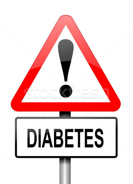 Diabetes warning. Stock photo © 72soul