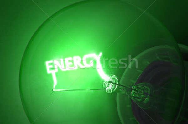 Green energy Stock photo © 72soul