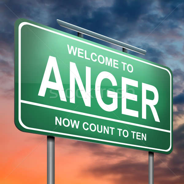 Anger concept. Stock photo © 72soul