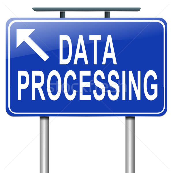 Data processing. Stock photo © 72soul
