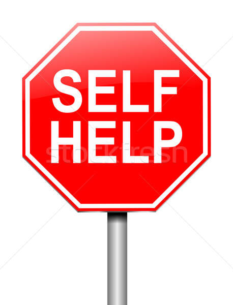 Self help concept. Stock photo © 72soul