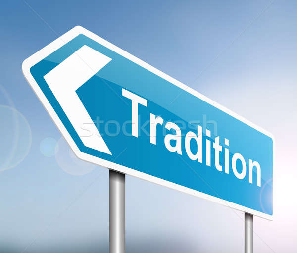Tradition concept. Stock photo © 72soul