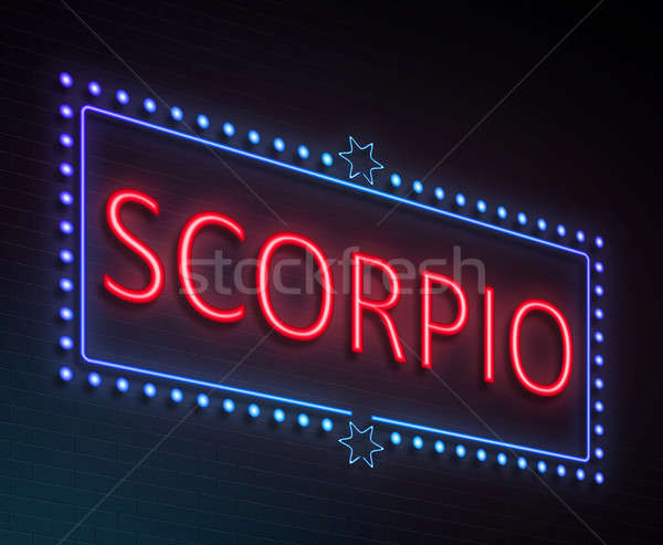 Scorpio sign concept. Stock photo © 72soul