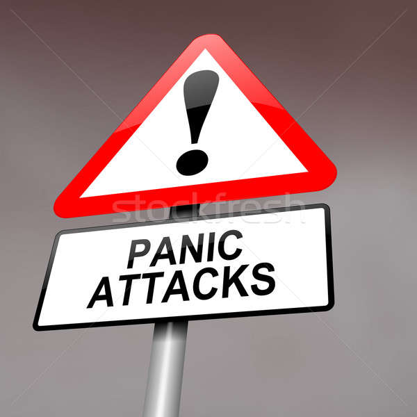 Panic attack warning. Stock photo © 72soul