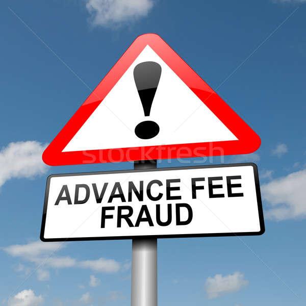 Advance fee fraud concept. Stock photo © 72soul