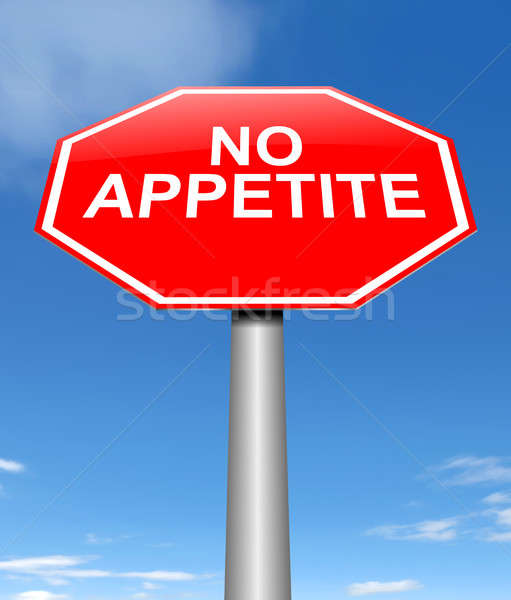 No appetite concept. Stock photo © 72soul
