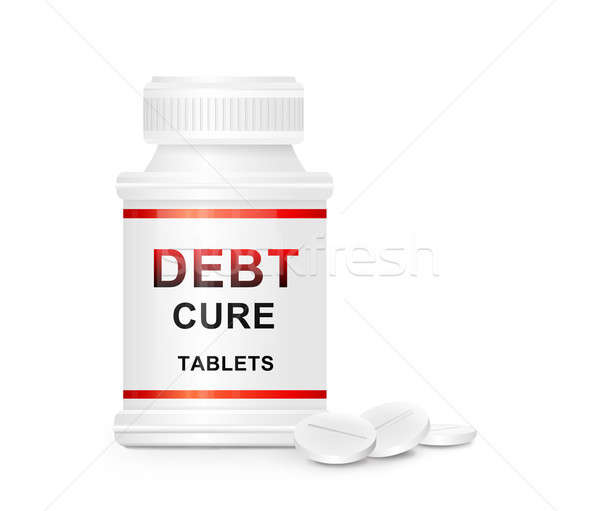 Debt cure concept. Stock photo © 72soul