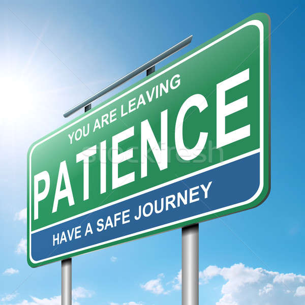 Patience concept. Stock photo © 72soul