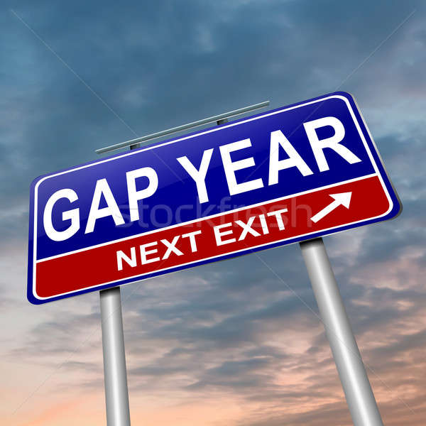 Gap year concept. Stock photo © 72soul