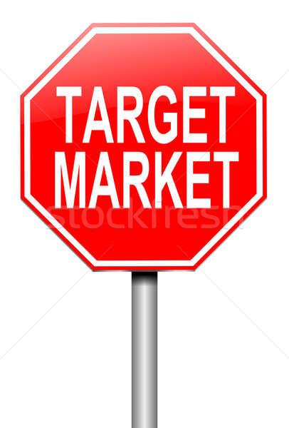 Target market. Stock photo © 72soul