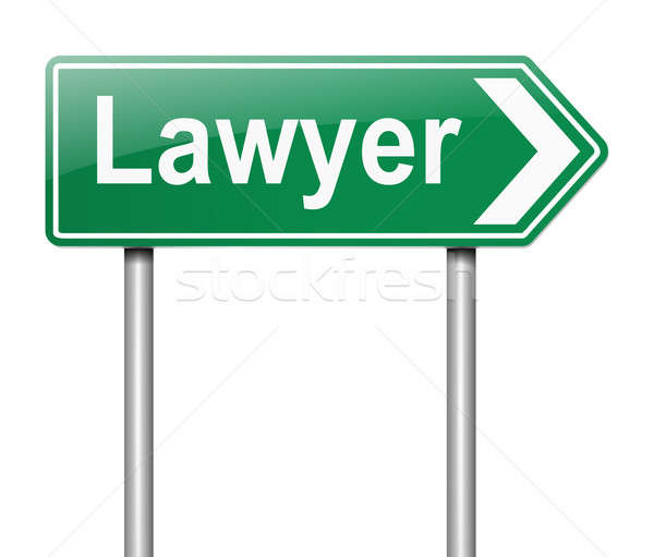 Lawyer concept. Stock photo © 72soul