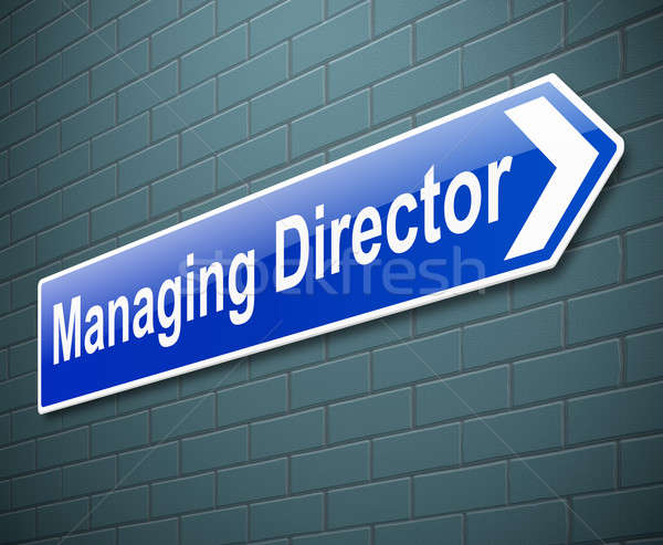 Managing Director concept. Stock photo © 72soul