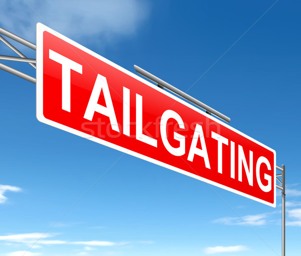 Tailgating concept. Stock photo © 72soul