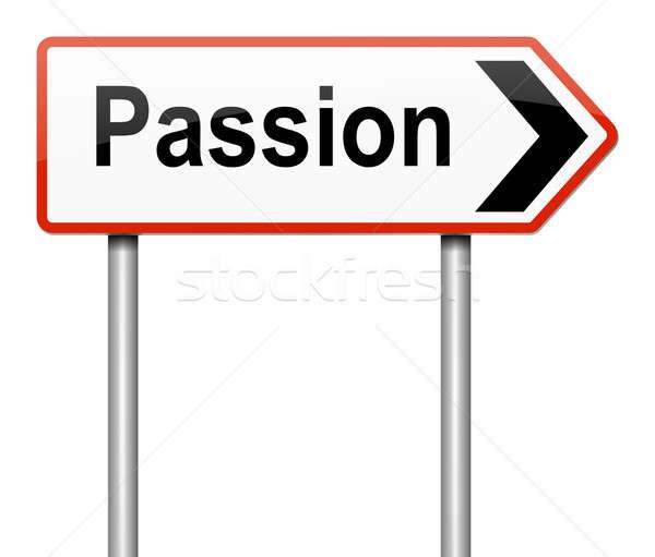 Passion concept. Stock photo © 72soul