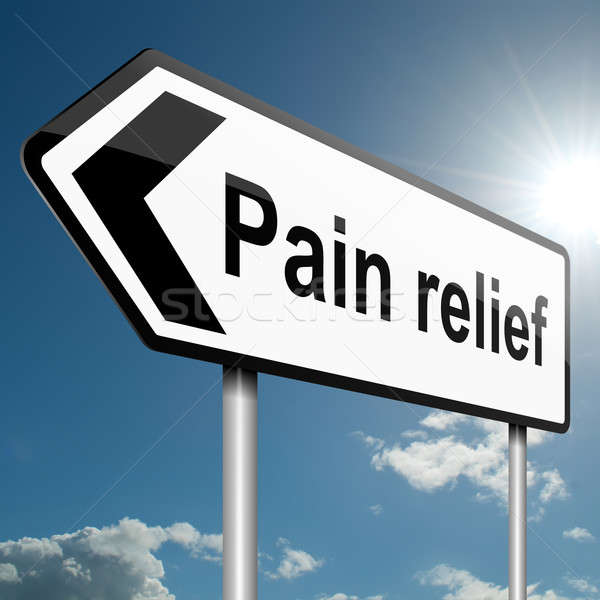 Pain relief concept. Stock photo © 72soul