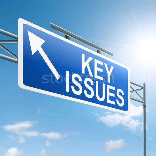 Key issues concept. Stock photo © 72soul