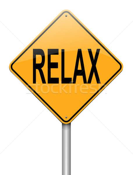 Stock photo: Relax concept.