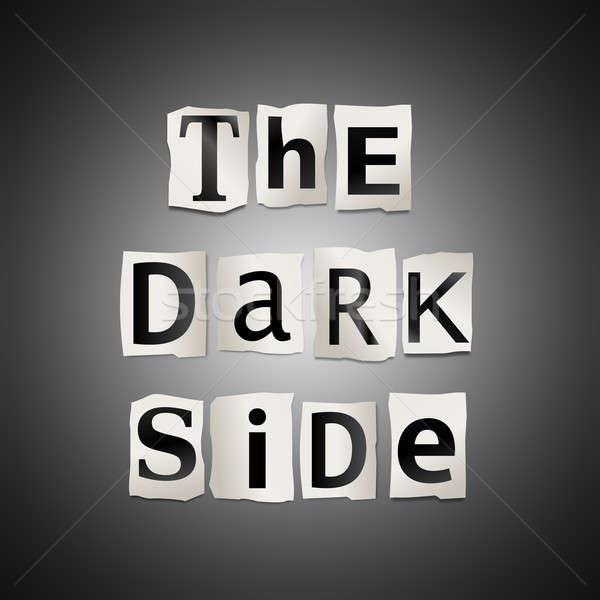 The dark side. Stock photo © 72soul