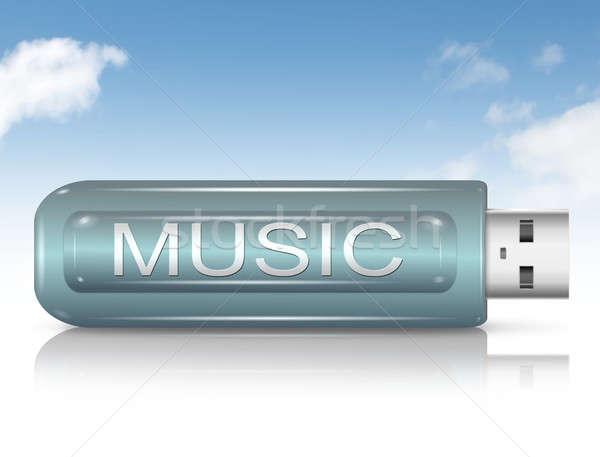 Music files concept. Stock photo © 72soul