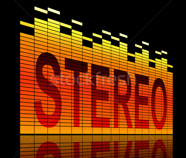 Stereo concept. Stock photo © 72soul